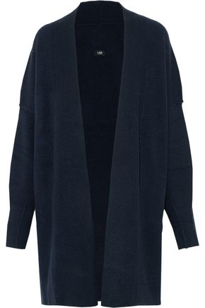 LINE Brushed stretch-knit cardigan