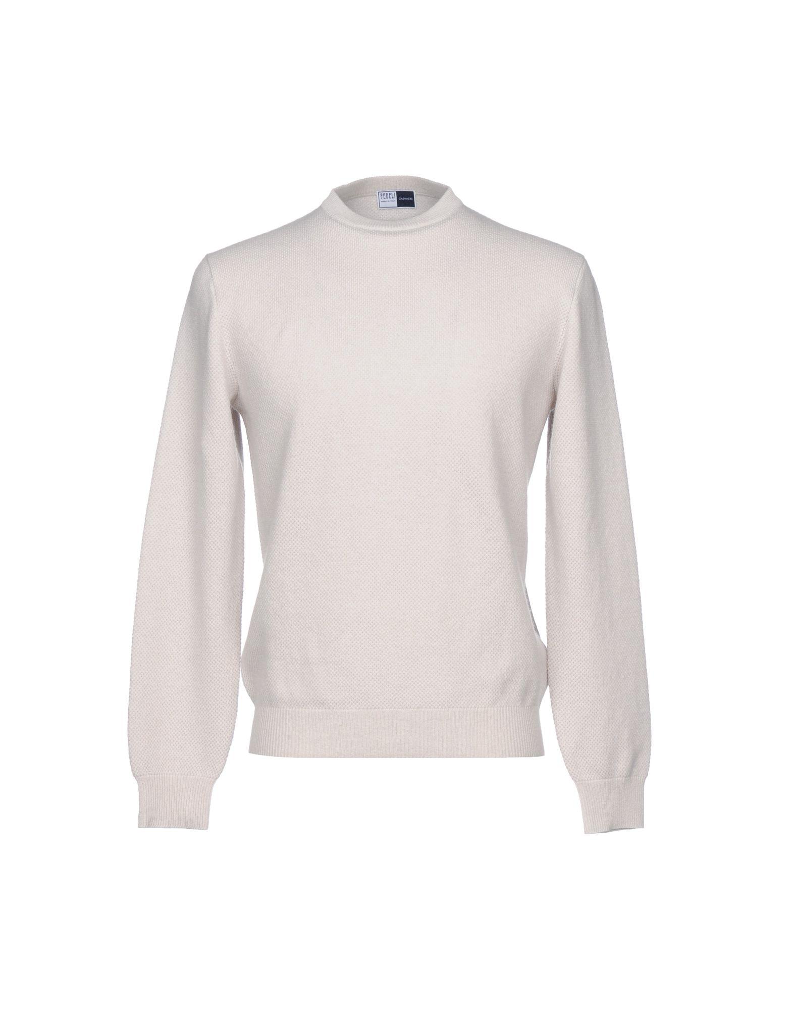 FEDELI Cashmere Blend in Light Grey