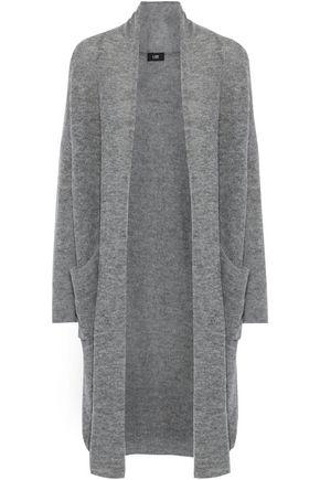 LINE Alpaca-blend cardigan