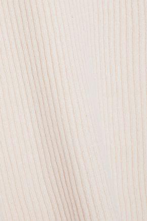 LINE Ribbed-knit turtleneck sweater