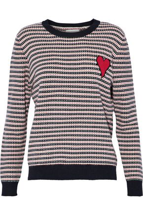 CHINTI AND PARKER Jacquard cashmere sweater
