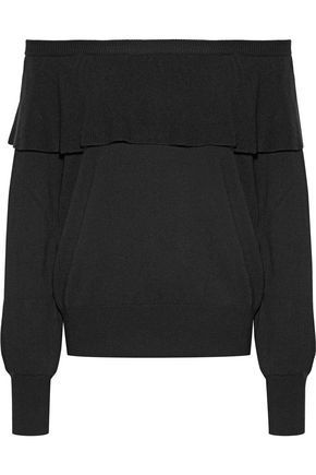 JOIE Adinam off-the-shoulder knitted sweater