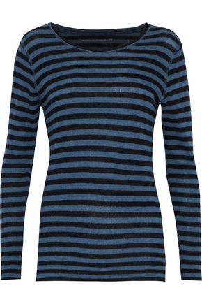MAJESTIC FILATURES Striped cashmere sweater