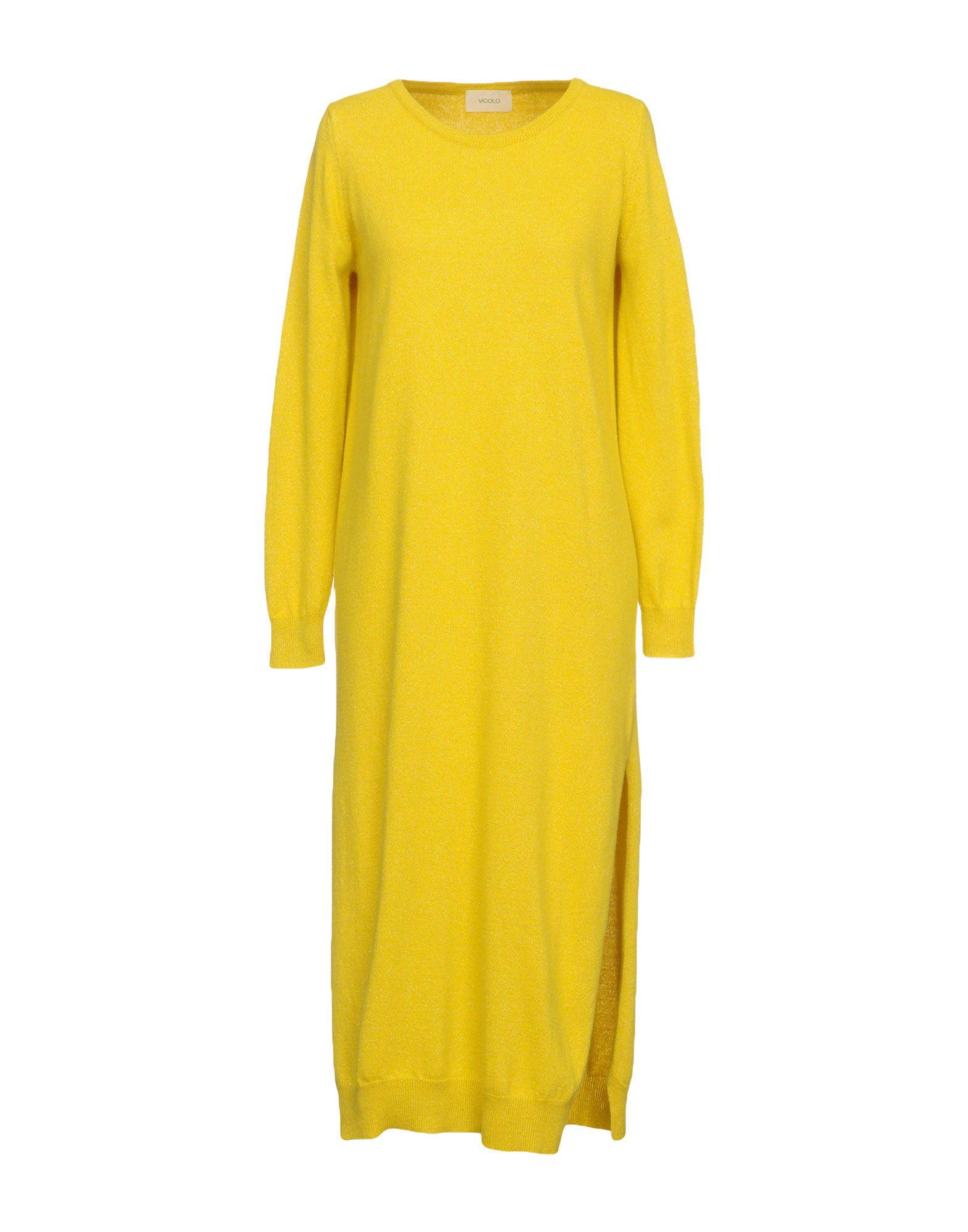 VICOLO Платье длиной 3/4 vicolo платье длиной 3 4