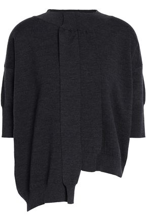 MARNI Asymmetric wool top