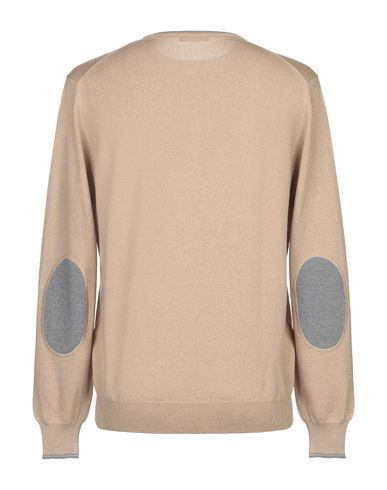 Фото 2 - Мужской свитер FAY цвет песочный