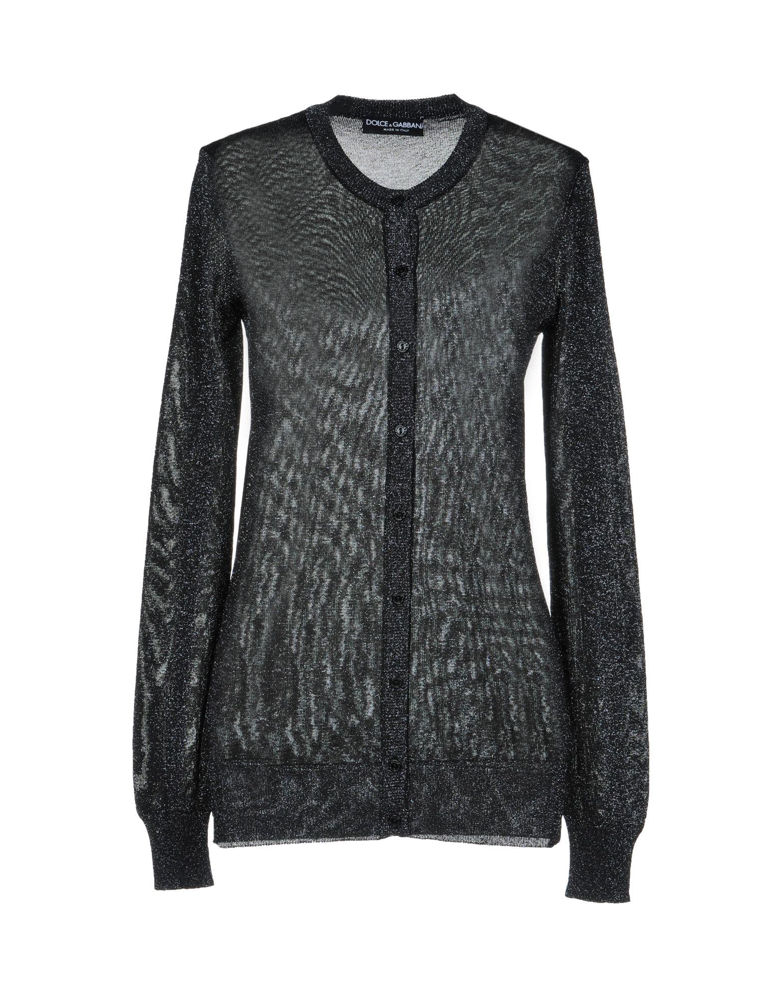 Dolce   Gabbana Cardigans In Black  424fc8782