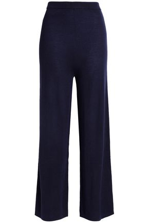 N.PEAL Cashmere and silk-blend pants