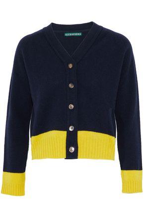ALEXA CHUNG Two-tone wool cardigan