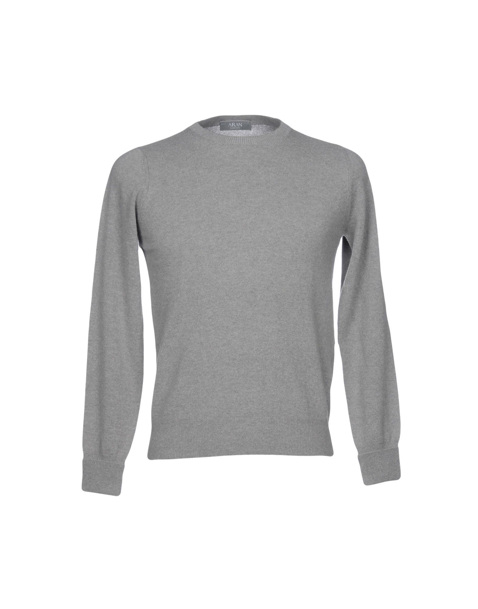 ARAN CASHMERE Sweater in Grey