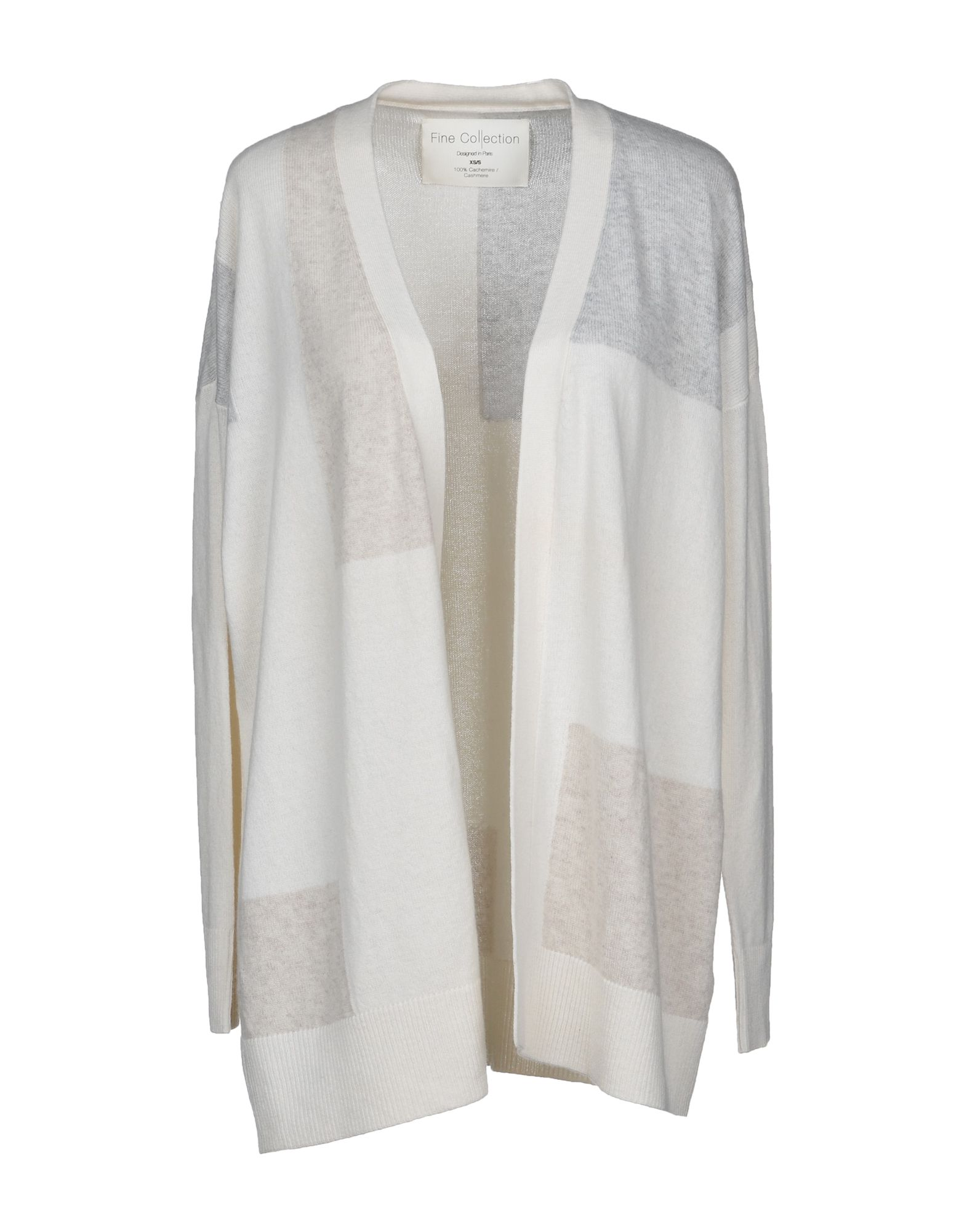 FINE COLLECTION Cardigan in Ivory