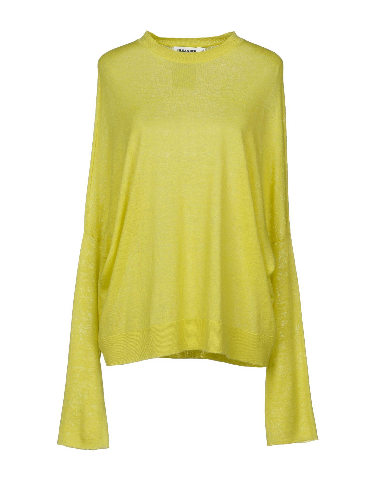 Jil Sander Sweater In Yellow