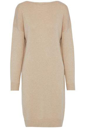 OSCAR DE LA RENTA Silk and cashmere-blend dress