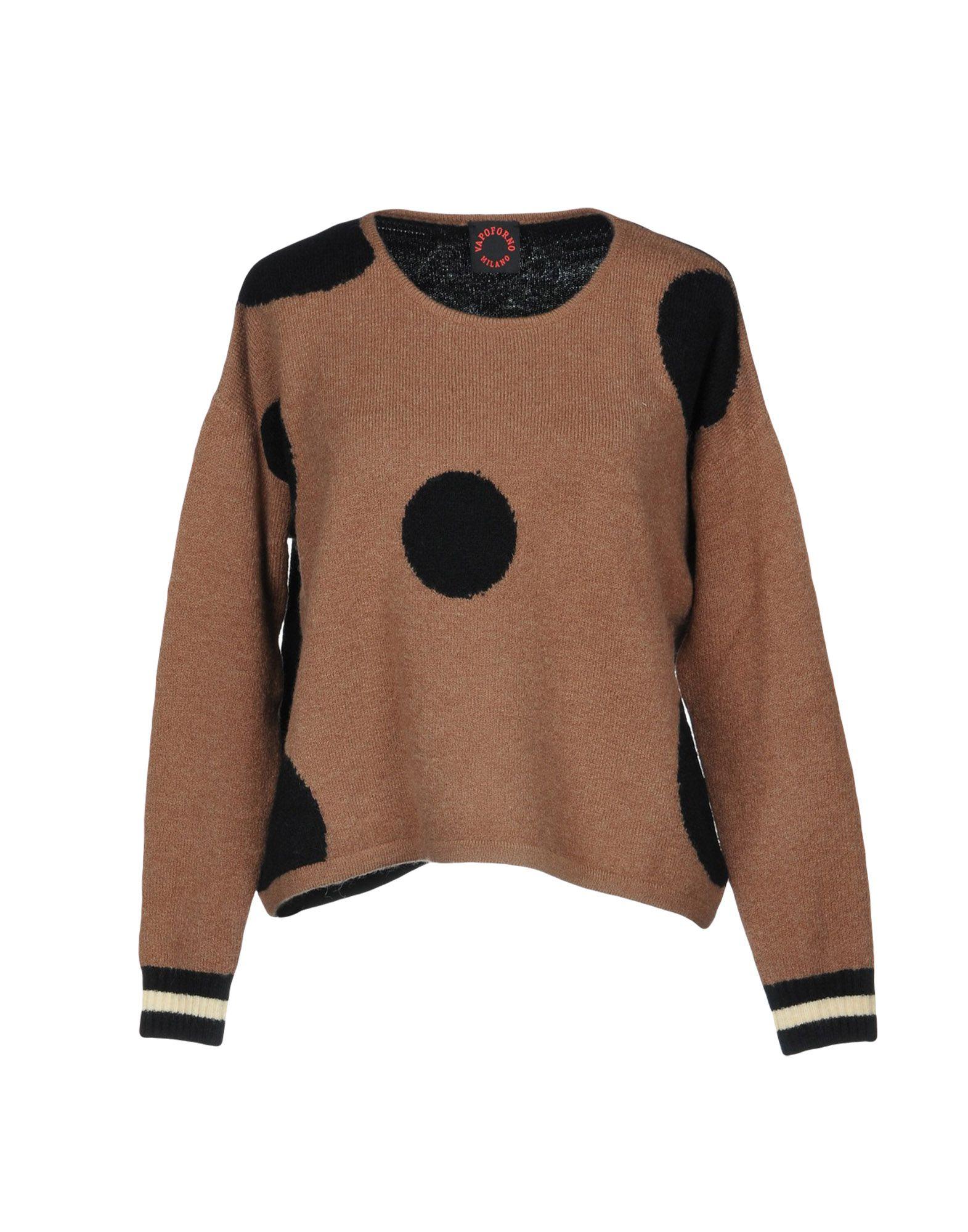 VAPOFORNO MILANO Свитер блуза xs milano блузы в горошек