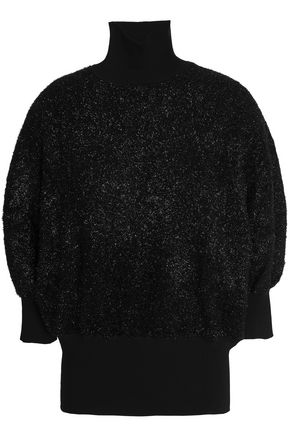 BY MALENE BIRGER Metallic knitted turtleneck top