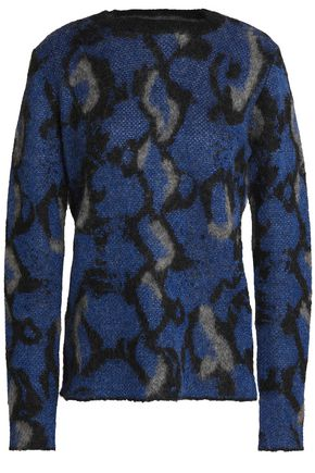 BY MALENE BIRGER Metallic jacquard-knit sweater