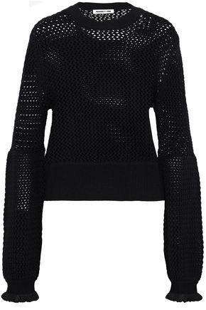 McQ Alexander McQueen Open-knit wool sweater