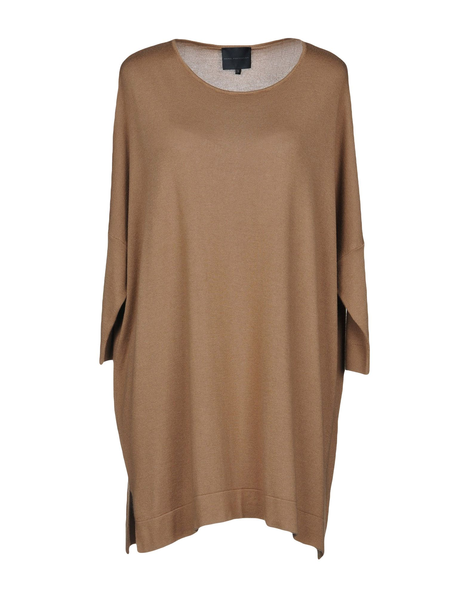 HOTEL PARTICULIER Sweater in Camel