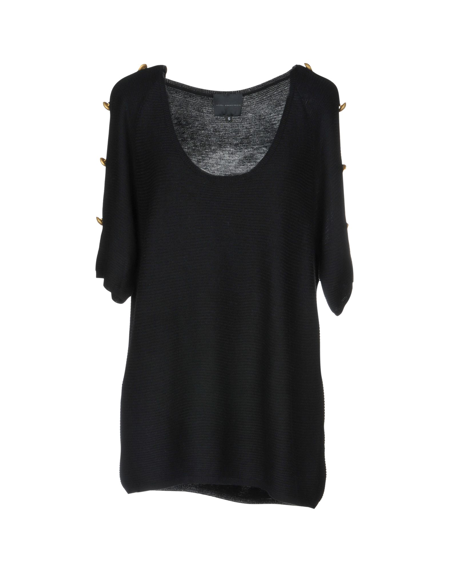 HOTEL PARTICULIER Sweater in Black