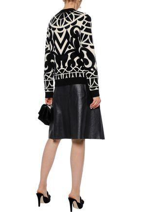 TEMPERLEY LONDON Jani jacquard-knit sweater