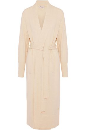TEMPERLEY LONDON Belted wool and cashmere-blend cardigan