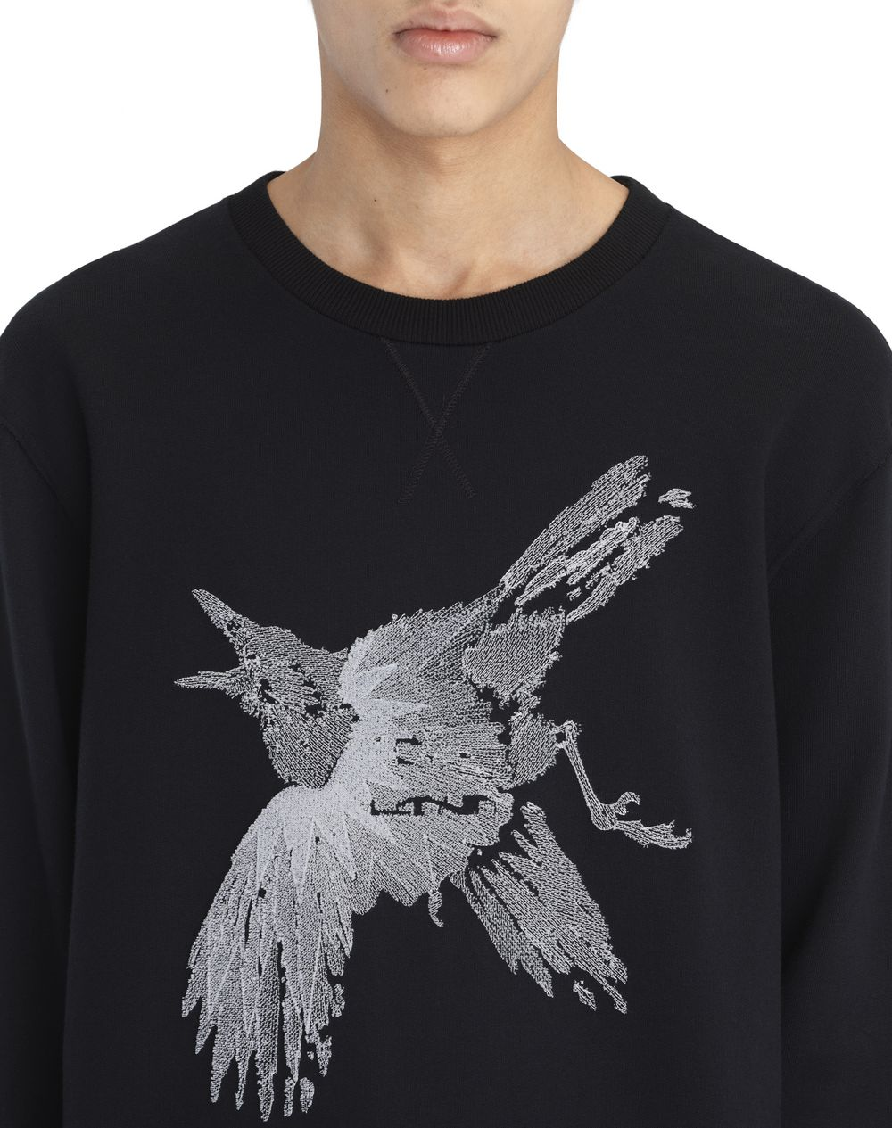 """BIRD"" APPLIQUÉ SWEATSHIRT - Lanvin"
