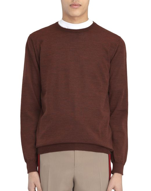 CREW-NECK JERSEY STITCH SWEATER - Lanvin