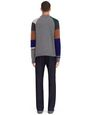 """LANVIN Knitwear & Jumpers Man CAMEL AND GRAY """"LANDSCAPE"""" SWEATER f"""