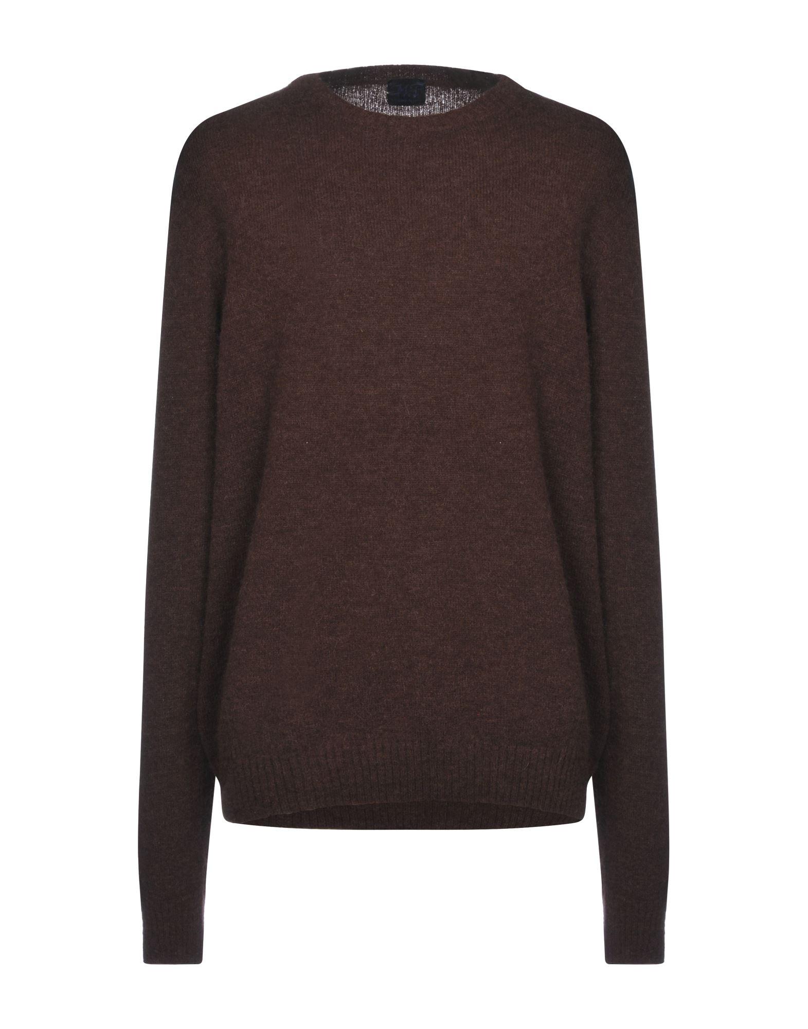 Mp Massimo Piombo Sweaters In Cocoa Modesens