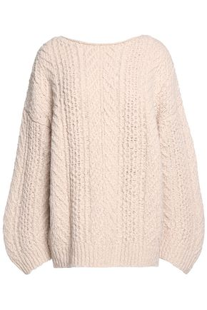 VINCE. Cable-knit wool-blend sweater