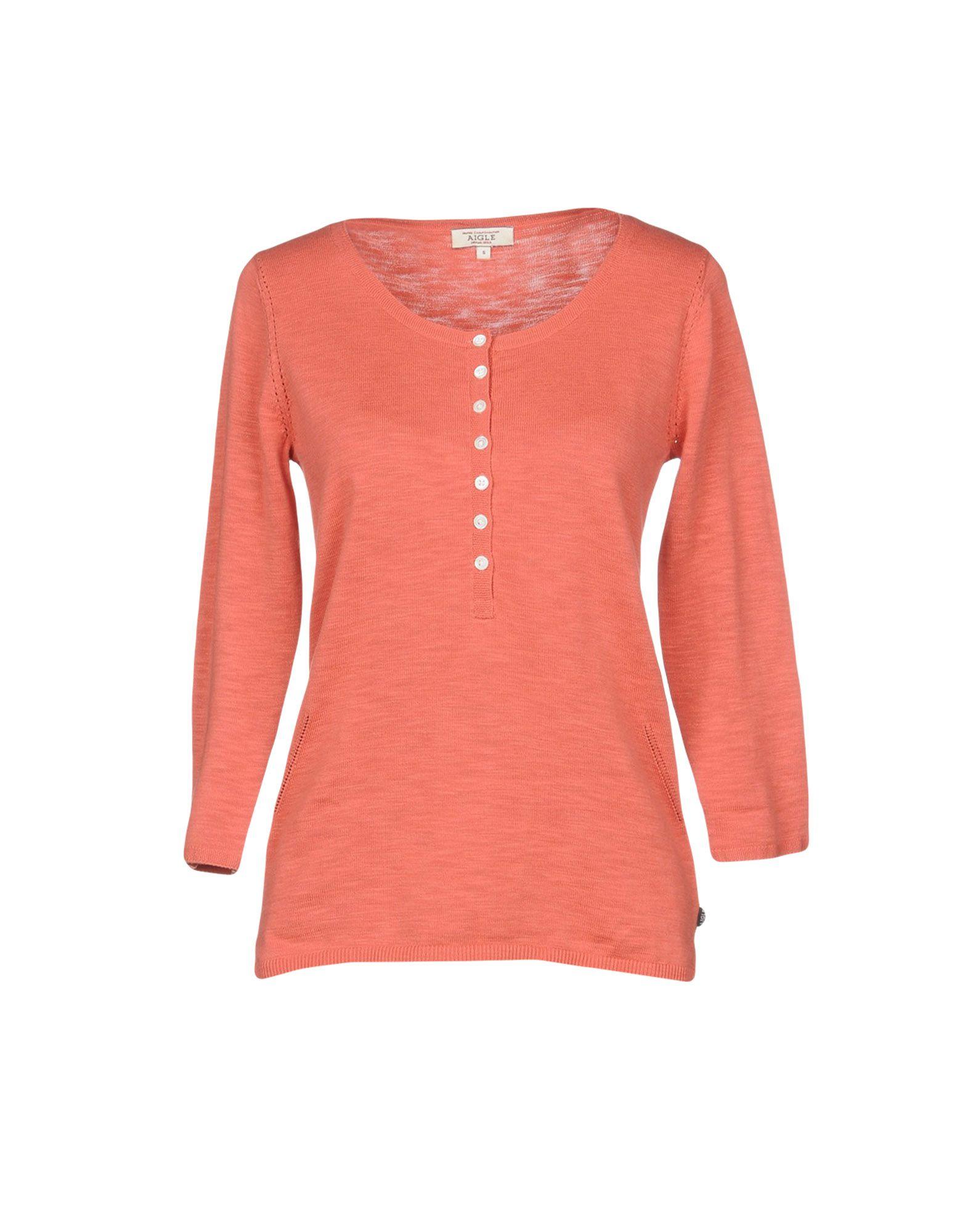 AIGLE Sweaters in Salmon Pink