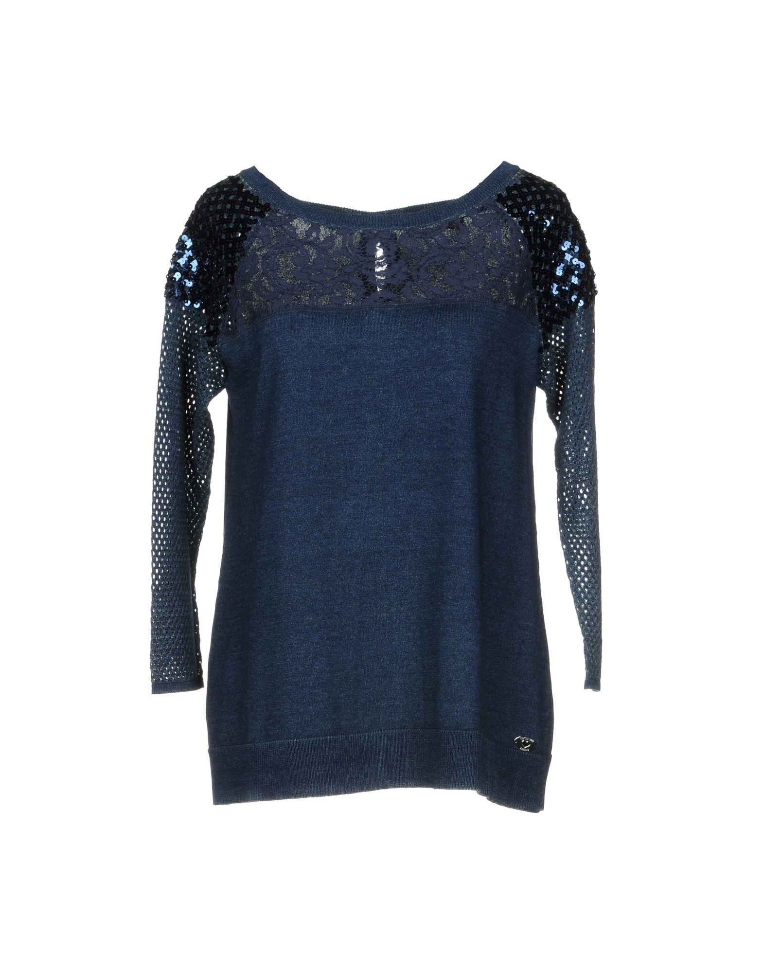 TWIN-SET JEANS Sweater in Dark Blue
