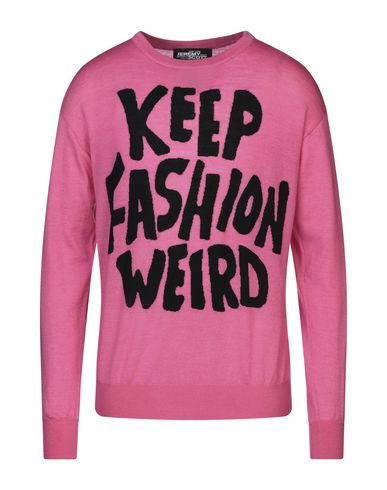 Купить Мужской свитер JEREMY SCOTT цвета фуксия