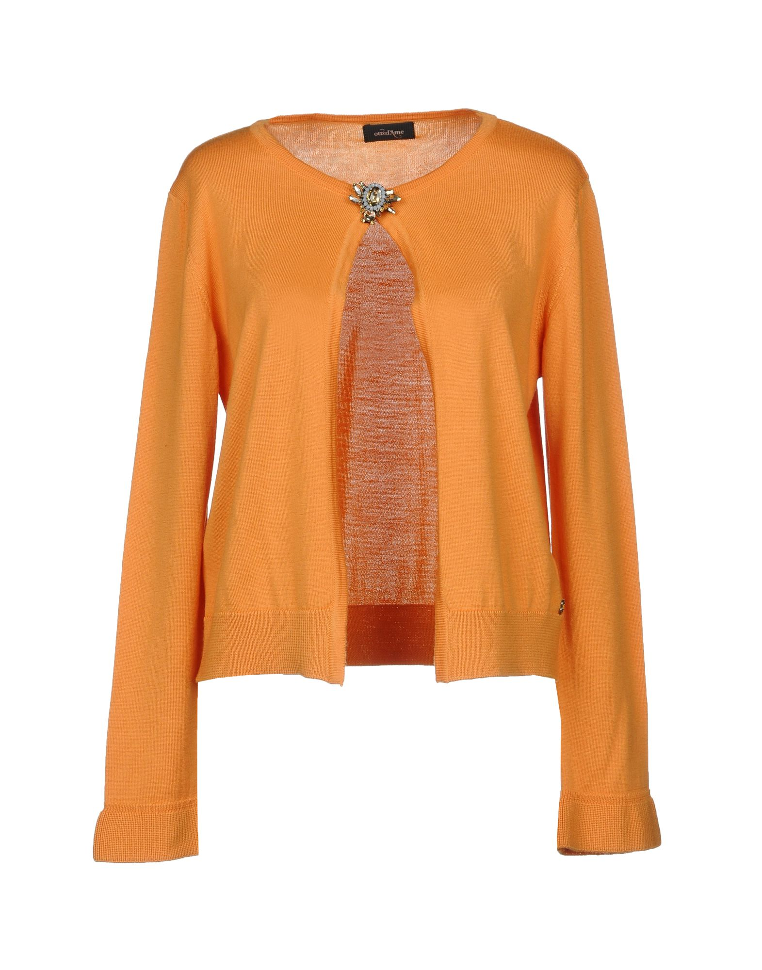 OTTOD'AME Cardigan in Orange