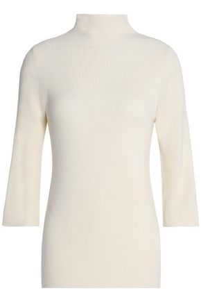 PRINGLE OF SCOTLAND Merino wool and silk-blend turtleneck sweater