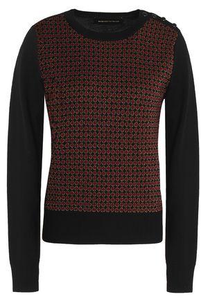 VANESSA SEWARD Metallic intarsia wool-blend sweater