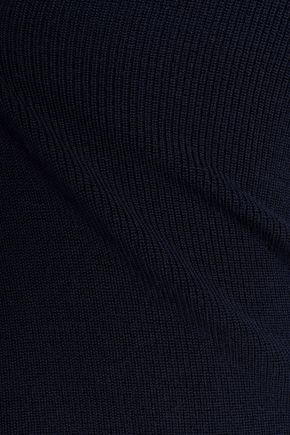 PRINGLE OF SCOTLAND Merino wool, silk and cashmere-blend turtleneck sweater