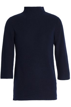 PRINGLE OF SCOTLAND Merino wool, silk and cashmere-blend turtleneck sweater