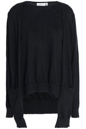 PRINGLE OF SCOTLAND Draped cashmere sweater