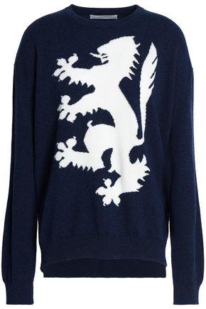 PRINGLE OF SCOTLAND Intarsia cashmere sweater