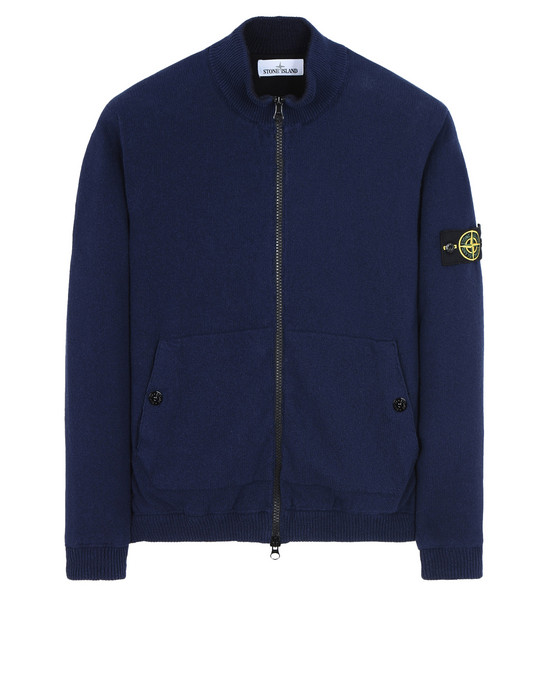 STONE ISLAND 开衫 561D8 KNIT WITH INNER PRIMALOFT® LAYER