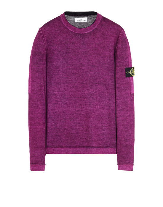 STONE ISLAND Sweater 571A8 FAST DYE + AIR BRUSH