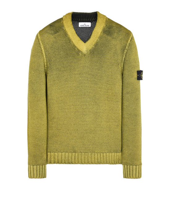 Sweater 592A8 FAST DYE + AIR BRUSH STONE ISLAND - 0