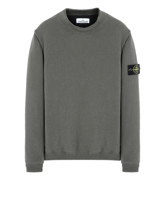 STONE ISLAND セーター 562D8 KNIT WITH INNER PRIMALOFT® LAYER