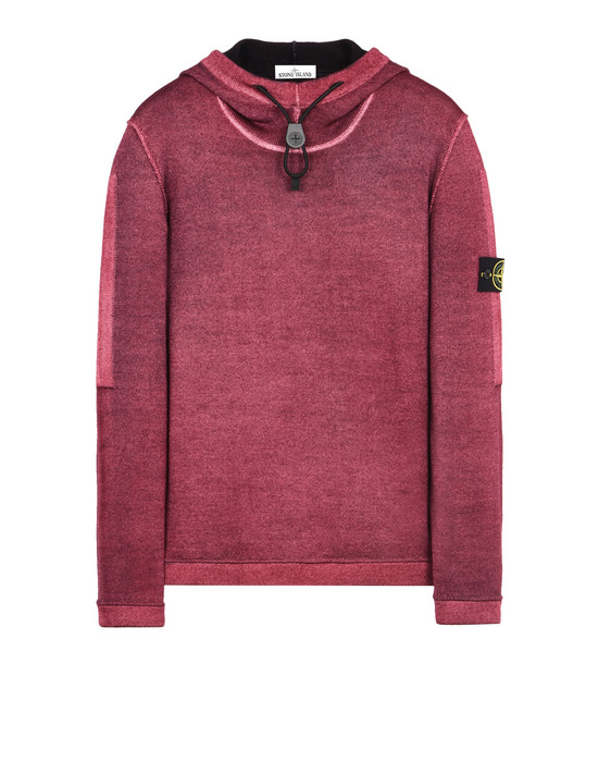STONE ISLAND Tricot 572A8 FAST DYE + AIR BRUSH