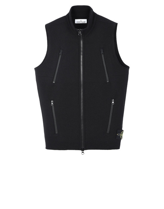 Sleeveless jumper 556A6 STONE ISLAND - 0