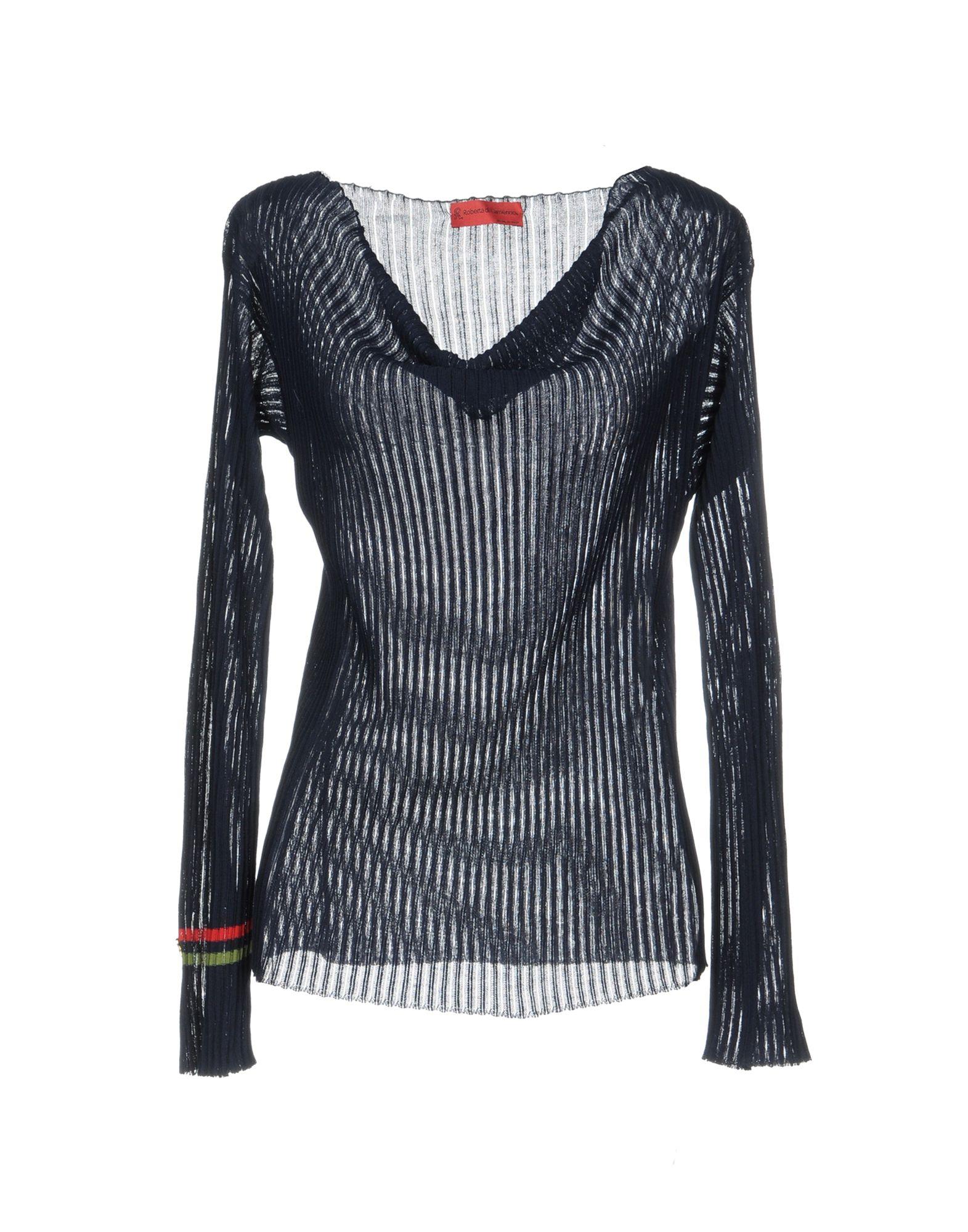 ROBERTA DI CAMERINO Sweater in Dark Blue