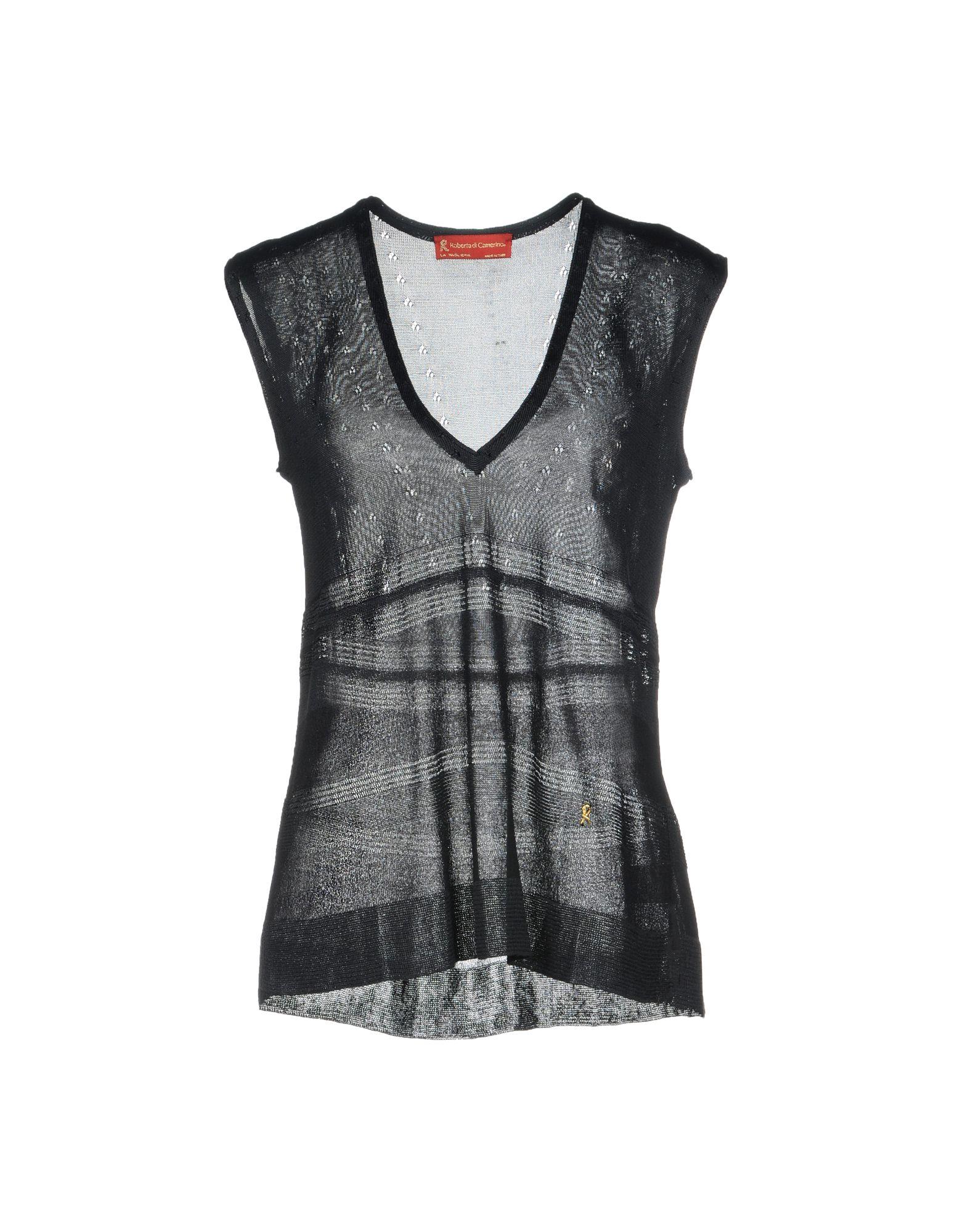 ROBERTA DI CAMERINO Sweater in Black