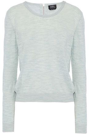 A.P.C. Mélange linen sweater