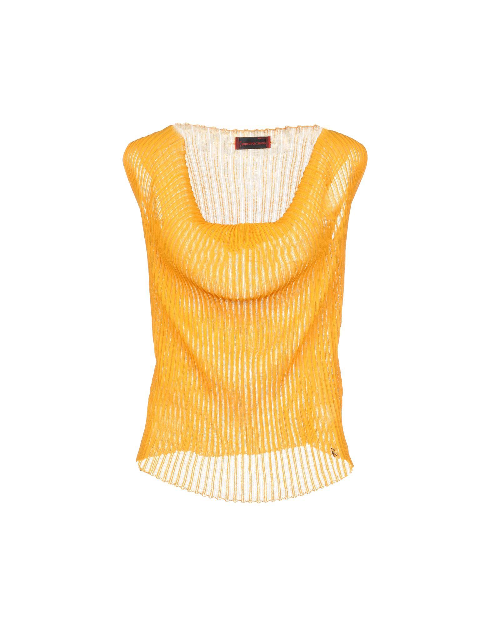ROBERTA DI CAMERINO Sweater in Ocher